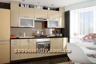 Кухня Мода золотой металлик