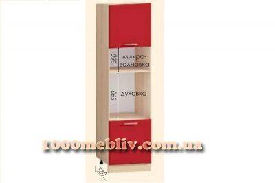 Шкаф Т-2892 под духовку и микроволновку Хай-Тек