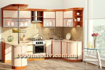 Кухня Софт дуб молочный/ольха (КХ-68)