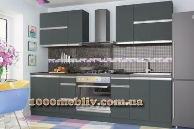 Кухня Aльбина антрацит