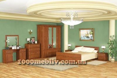 Спальня Даллас каштан Мебель-сервис