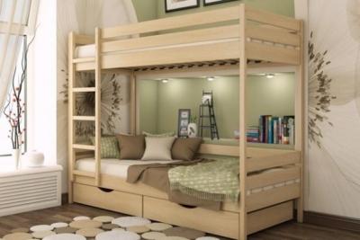 Кровать Дуэт двухъярусная