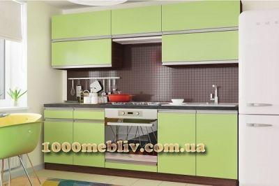 Кухня Aльбина оливковый