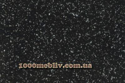 Столешница Кристалл черный 38мм