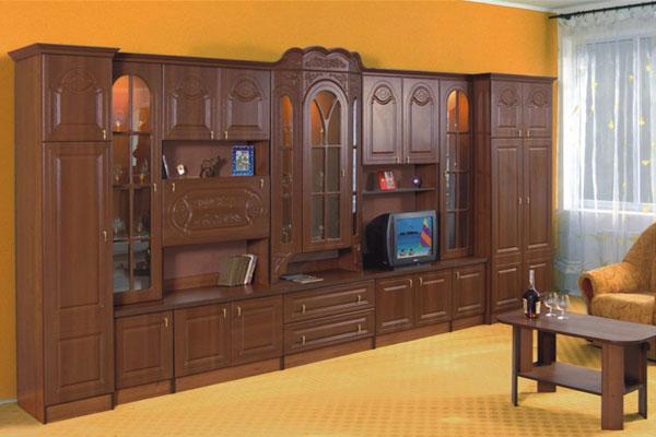 Гостиная лорд 5м-купить недорого и дешево гостиную стенку св.