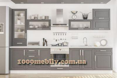 Кухня Гамма матовые фасады