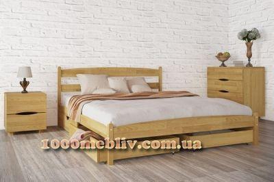 Кровать Лика с ящиками двухспальная