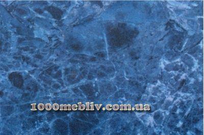 Столешница мрамор голубой глянец