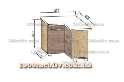 Модуль Н 87х87 Алина Свит Меблив