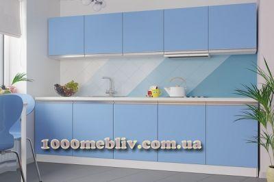 Кухня Aльбина голубой