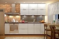 Кухня МоДа Серебро металлик
