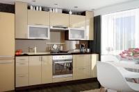 Кухня МоДа Золото металлик
