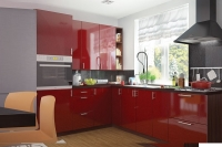 Кухня МоДа Гранат металлик