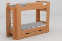 Кровать двухъярусная Твикс Компанит