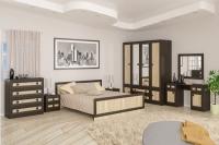 Спальня Даллас венге/сонома Мебель-сервис