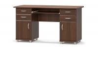 Стол письменный двухтумбовый  Мебель-сервис