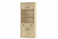 Книжный шкаф 4Д1Ш Валенсия Мебель-Сервис