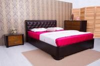 Кровать Милена c подъемным механизмом и  мягкой спинкой