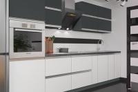 Кухня Aльбина белый/антрацит