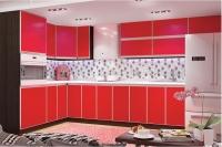 Кухня ALTA красный