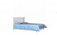 Кровать 2сп Фелиция Новая белая Свит Меблив