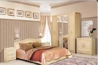 Спальня Флоренция светлый глянец