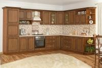 Кухня Гранд дуб золотой Мебельсервис