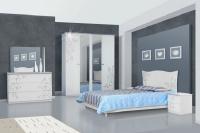 Спальня Фелиция Новая белая