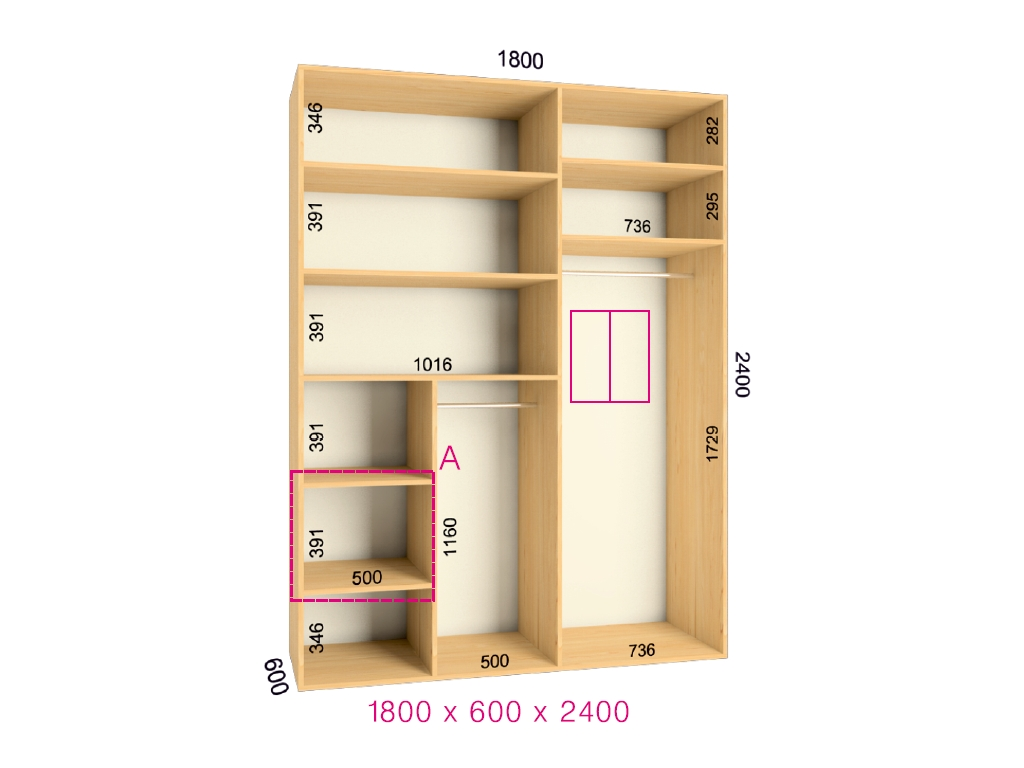 Мебель для прихожей шкаф купе в прихожую новый - меблі в укр.