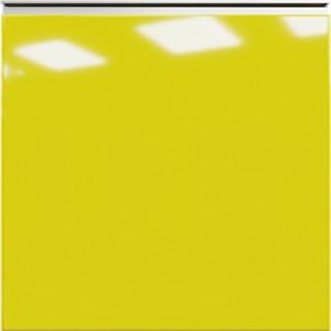 Кухня RioLine серо-голубой матовый - Лимон глянец