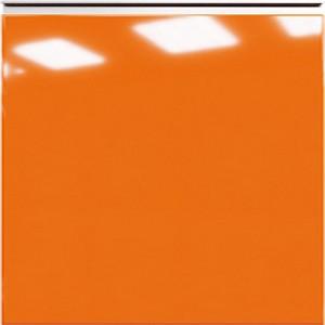 Кухня RioLine серо-голубой матовый - Оранж глянец