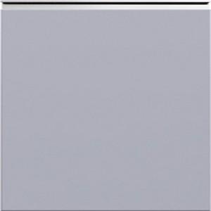 Кухня RioLine серо-голубой матовый - Светло-серый матовый М03