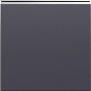 Кухня RioLine серо-голубой матовый - Темно-серый матовый М04