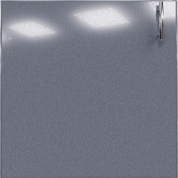 Кухня Колор-MIX оливковый глянец - Серый металлик
