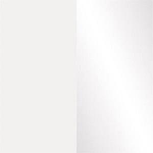 Витрина навесная SFW 1W Вушер - Нимфея альба/Белый глянец