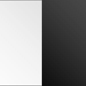Вешалка АРИ WIE50 - Белый глянец/Черный глянец