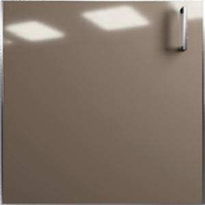 Кухня Mirror Gloss теракота глянец - Латте