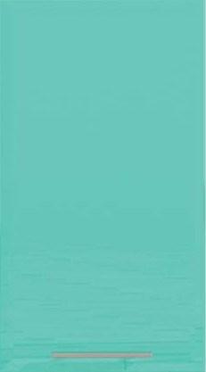 Шкаф Е-2827 Хай-Тек - Бирюза глянец перламутр