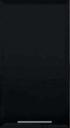 Шкаф Т-2889 под духовку или микроволновку Хай-Тек - Черный глянец  перламутр