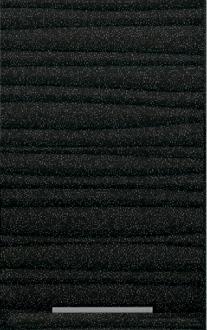 Антресоль Т-2860 Хай-Тек - Черный глянец перламутр