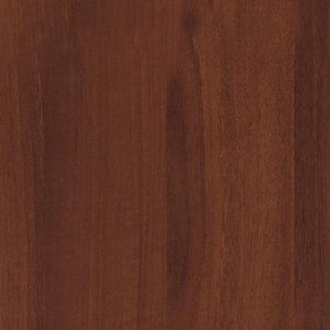 Кухня Хай-Тек красный глянец с фотопечатью - Орех