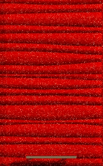 Антресоль Т-2860 Хай-Тек - Красный глянец перламутр