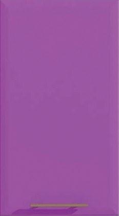 Шкаф Т-2889 под духовку или микроволновку Хай-Тек - Сирень глянец перламутр