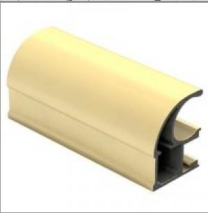 Шкаф-купе 1500х600х2400 - Светлое золото