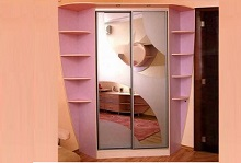 Шкафы-купе угловые