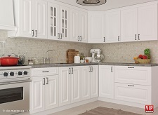 Крашеные кухни