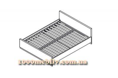 Кровать LOZ 140 Ларго классик