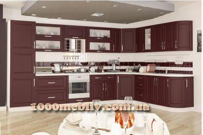Кухня Гамма матовые фасады МебельСервис