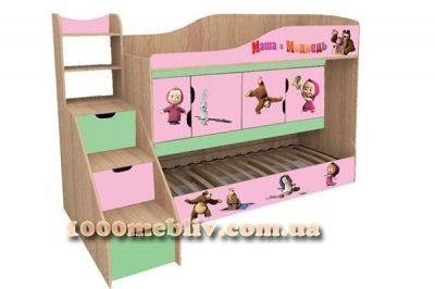 Кровать Маша и медведь (НМ)