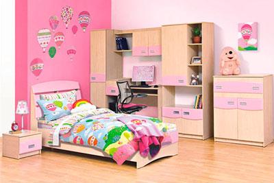 Детская Терри розовая